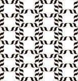 μαύρο λευκό προτύπων Στοκ Φωτογραφίες