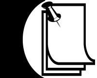 μαύρο λευκό ταμπλετών καρ& διανυσματική απεικόνιση