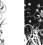 μαύρο λευκό τελών Στοκ εικόνα με δικαίωμα ελεύθερης χρήσης