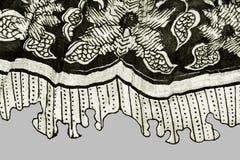μαύρο λευκό υφάσματος Στοκ εικόνα με δικαίωμα ελεύθερης χρήσης
