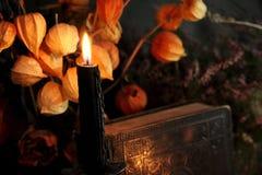 Μαύρο μαγικό τελετουργικό Στοκ φωτογραφία με δικαίωμα ελεύθερης χρήσης