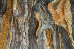 Μαύρο μαρμάρινο αφηρημένο σχέδιο υποβάθρου με τη υψηλή ανάλυση Τρύγος ή grunge υπόβαθρο της φυσικής σύστασης τοίχων πετρών παλαιά Στοκ φωτογραφίες με δικαίωμα ελεύθερης χρήσης