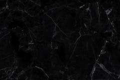 Μαύρο μαρμάρινο αφηρημένο υπόβαθρο σύστασης Στοκ Φωτογραφίες