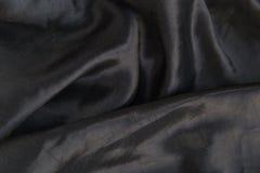 μαύρο μετάξι Στοκ εικόνα με δικαίωμα ελεύθερης χρήσης
