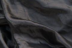 μαύρο μετάξι Στοκ Εικόνες