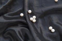 μαύρο μετάξι Στοκ φωτογραφίες με δικαίωμα ελεύθερης χρήσης