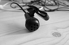 μαύρο μικρόφωνο Στοκ φωτογραφίες με δικαίωμα ελεύθερης χρήσης