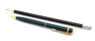 μαύρο μολύβι πεννών Στοκ φωτογραφία με δικαίωμα ελεύθερης χρήσης