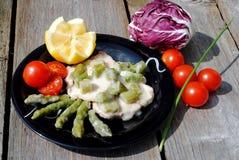 μαύρο μοσχαρίσιο κρέας ντ&omi Στοκ φωτογραφία με δικαίωμα ελεύθερης χρήσης