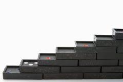 μαύρο ντόμινο Στοκ φωτογραφία με δικαίωμα ελεύθερης χρήσης