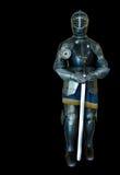 μαύρο ξίφος ιπποτών Στοκ Φωτογραφία