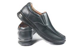 Μαύρο παπούτσι δέρματος Στοκ φωτογραφία με δικαίωμα ελεύθερης χρήσης