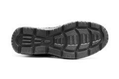 μαύρο παπούτσι κατώτατων α&ta Στοκ Εικόνες