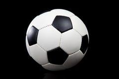 μαύρο ποδόσφαιρο σφαιρών &alpha Στοκ φωτογραφία με δικαίωμα ελεύθερης χρήσης