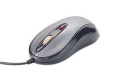 μαύρο ποντίκι λέιζερ υπολ στοκ φωτογραφία