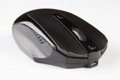 μαύρο ποντίκι υπολογιστών οπτικό Στοκ Φωτογραφίες