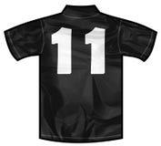 Μαύρο πουκάμισο ένδεκα Στοκ εικόνες με δικαίωμα ελεύθερης χρήσης