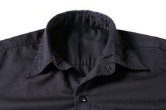 μαύρο πουκάμισο στοκ φωτογραφία