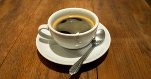Μαύρο πρωί καφέ σήμερα Στοκ φωτογραφία με δικαίωμα ελεύθερης χρήσης