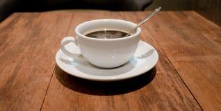 Μαύρο πρωί καφέ σήμερα Στοκ Εικόνες