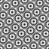 μαύρο πρότυπο διακοσμήσε& διανυσματική απεικόνιση