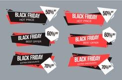 Μαύρο πρότυπο σχεδίου πώλησης Παρασκευής εννοιολογικό σχεδιάγραμμα για τον Ιστό και την τυπωμένη ύλη Στοκ φωτογραφία με δικαίωμα ελεύθερης χρήσης