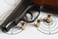 μαύρο πυροβόλο όπλο Στοκ Φωτογραφία