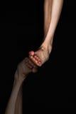 μαύρο πόδι Στοκ φωτογραφίες με δικαίωμα ελεύθερης χρήσης