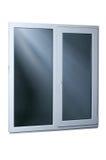 μαύρο πλαστικό διανυσματικό παράθυρο απεικόνισης πλαισίων απομονωμένος Στοκ φωτογραφίες με δικαίωμα ελεύθερης χρήσης
