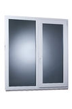 μαύρο πλαστικό διανυσματικό παράθυρο απεικόνισης πλαισίων απομονωμένος Στοκ εικόνες με δικαίωμα ελεύθερης χρήσης