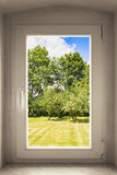 μαύρο πλαστικό διανυσματικό παράθυρο απεικόνισης πλαισίων Στοκ φωτογραφία με δικαίωμα ελεύθερης χρήσης