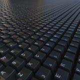 μαύρο πληκτρολόγιο Στοκ Φωτογραφία