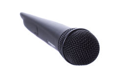 μαύρο ραδιόφωνο μικροφώνων Στοκ εικόνες με δικαίωμα ελεύθερης χρήσης