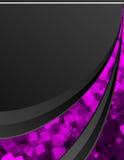 μαύρο ροζ ανασκόπησης Ελεύθερη απεικόνιση δικαιώματος