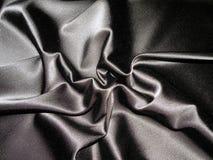 μαύρο σατέν Στοκ φωτογραφία με δικαίωμα ελεύθερης χρήσης