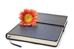 μαύρο σημειωματάριο στοκ εικόνα με δικαίωμα ελεύθερης χρήσης