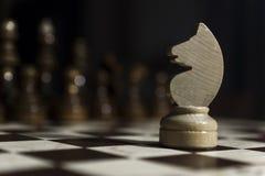 μαύρο σκάκι ανασκόπησης Στοκ Εικόνες