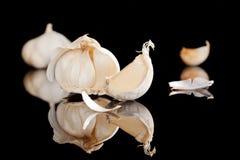 μαύρο σκόρδο ανασκόπησης Στοκ φωτογραφία με δικαίωμα ελεύθερης χρήσης