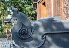 μαύρο σπίτι Στοκ εικόνα με δικαίωμα ελεύθερης χρήσης