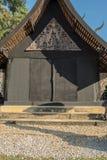 μαύρο σπίτι Στοκ Εικόνα