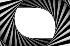 μαύρο σπειροειδές λευ&kapp διανυσματική απεικόνιση