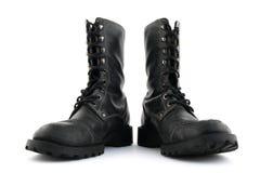 μαύρο στρατιωτικό ύφος μπο Στοκ φωτογραφία με δικαίωμα ελεύθερης χρήσης