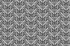 Μαύρο σχέδιο δαντελλών Στοκ Εικόνες