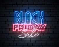 Μαύρο σχέδιο εμβλημάτων πώλησης νέου Παρασκευής διανυσματική απεικόνιση