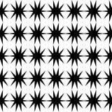 Μαύρο σχέδιο αστεριών άνευ ραφής Στοκ φωτογραφία με δικαίωμα ελεύθερης χρήσης