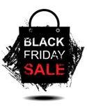 Μαύρο σχέδιο πώλησης Παρασκευής Στοκ Εικόνα