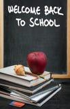 μαύρο σχολείο έννοιας βιβλίων ανασκόπησης copyspace Στοκ εικόνες με δικαίωμα ελεύθερης χρήσης