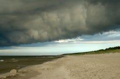 μαύρο σύννεφο Στοκ Εικόνα