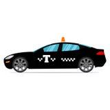Μαύρο ταξί Στοκ Εικόνες