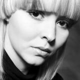 μαύρο τετραγωνικό λευκό πορτρέτου στοκ εικόνες με δικαίωμα ελεύθερης χρήσης
